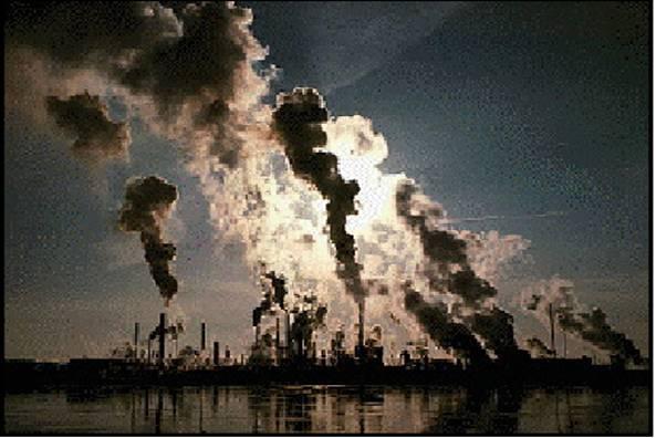 بحث عن تلوث الهواء في المدن الهواء